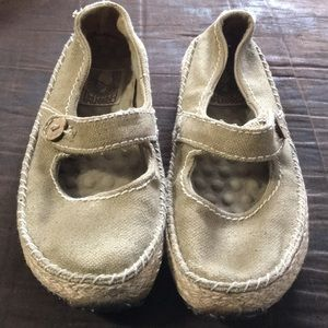 GreenToe by Simple canvas hemp flat size 6